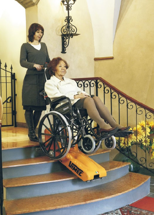 T06-ROBY Portable Wheelchair Elevators